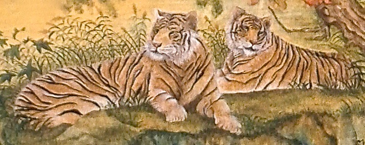 Lounging Tigers 2